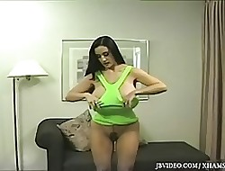 hot brunette with big tits porn movies
